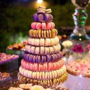 Macaroon Wedding Cake Alternative